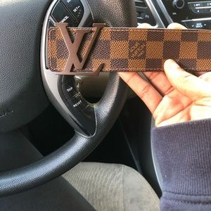 Men Louis Vuitton Belt